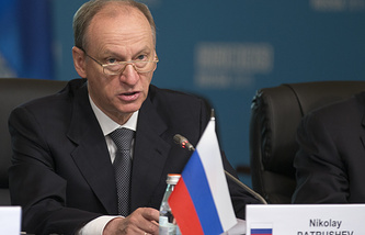 Secretary of the Russian Security Council Nikolai Patrushev