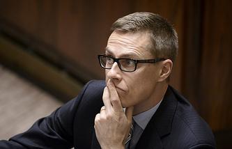 Former Finnish Prime Minister Alexander Stubb