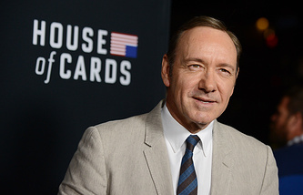 Kevin Spacey who plays the lead role in House of Cards political drama TV series