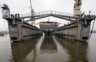 Project 22350 lead frigate Admiral Gorshkov