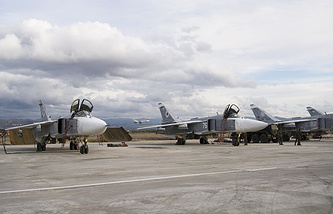 Russian Su-24 bombers