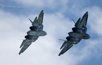 PAK FA fighter jets