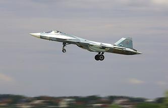 PAK FA fighter jet