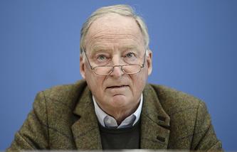 Deputy leader of the Alternative for Germany party Alexander Gauland