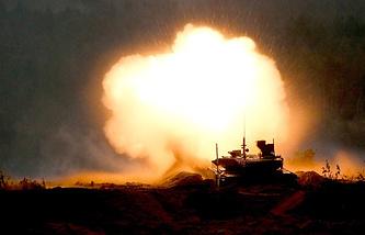 T-90M tank at Zapad-2017 drills