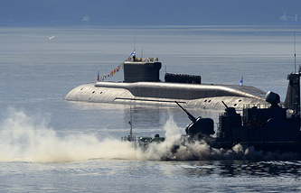 Yuri Dolgoruky submarine