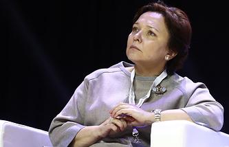 Senior Vice-President at Norilsk Nickel Mining and Metallurgical Company Larisa Zelkova
