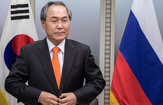 South Korean Ambassador to Russia Woo Yoon-keun
