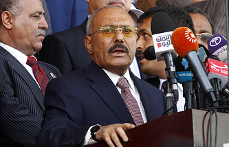 Yemen's ex-president Ali Abdullah Saleh