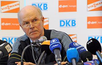 IBU President Anders Besseberg