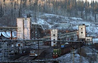 Yesaulskaya coal mine
