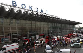 Kursky rail terminal
