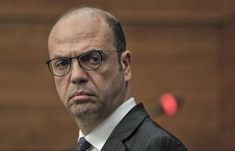 Italian Minister of Foreign Affairs Angelino Alfano