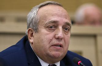 Russian senator Frantz Klintsevich