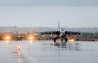 Su-25 aircrafts in Syria
