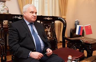 Russian Ambassador to China Andrey Denisov