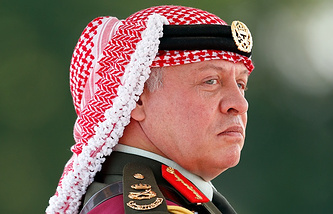 King of Jordan Abdullah II