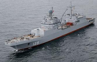 The Project 11711 large amphibious assault ship Ivan Gren