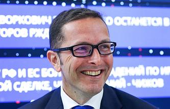 Wintershall's CEO Mario Mehren