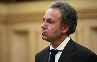 Greek Ambassador to Moscow Andreas Friganas