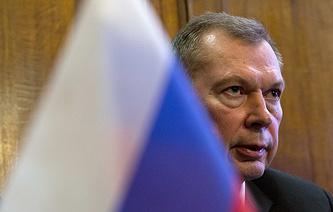 Russia's Permanent Representative to the OPCW Alexander Shulgin