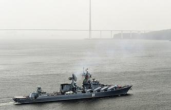 Varyag missile cruiser