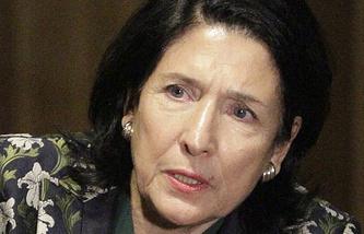 Georgia's President-elect Salome Zurabishvili