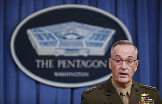 Joint Chiefs of Staff Chairman Gen. Joseph Dunford