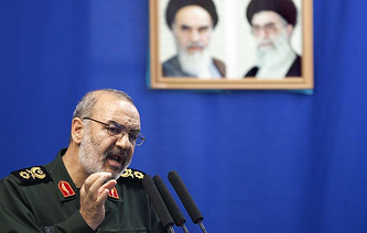 The second-in-command of the Islamic Revolutionary Guard Corps, Brigadier General Hossein Salami