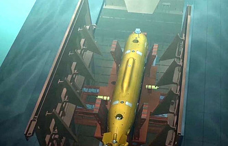 Russia's unmanned underwater vehicle (UUV) Poseidon
