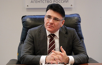 Head of the Russian media watchdog Alexander Zharov