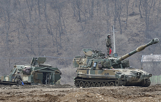 """US-South Korean joint military exercise """"Key Resolve/Foal Eagle"""""""