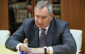 Roscosmos director general Dmitry Rogozin