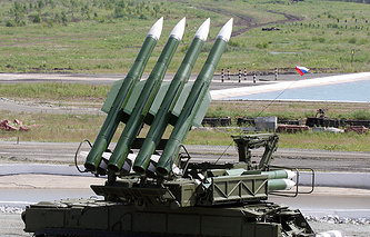 Buk-M1-2 surface-to-air missile system