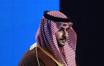 Saudi Deputy Defense Minister Khalid bin Salman bin Abdulaziz Al Saud