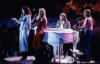 ABBA в 1979 году.