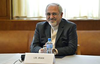Министр иностранных дел Исламской Республики Джавад Зариф