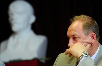 Руководитель московского комитета Компартии Валерий Рашкин