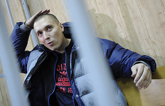 Рэпер Рома Жиган /Роман Чумаков/