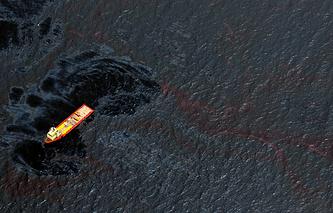 Разлив нефти в Мексиканском заливе в 2010 году