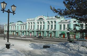 Здание музея изобразительных искусств им. М.А. Врубеля