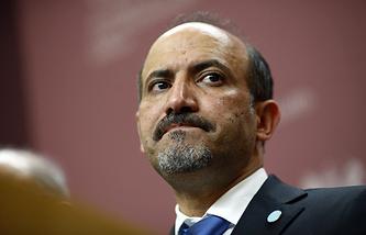 Лидер НКОРС Ахмед аль-Джарба