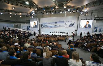 Во время VIII Красноярского экономического форума