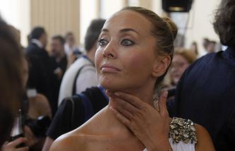 """Жанна Фриске на церемонии открытия XXI кинофестиваля """"Кинотавр"""", 2010"""
