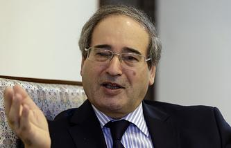Первый заместитель министра иностранных дел САР Фейсал Мекдад