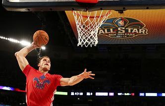 Блэйк Гриффин во время Матча всех звезд НБА-2014