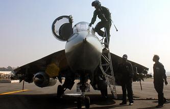 Легкий многоцелевой истребитель четвертого поколения Tejas ВВС Индии