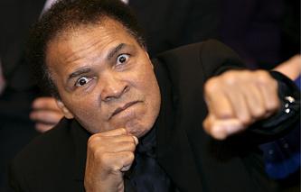Боксер Мохаммед Али