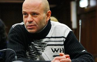Бывший сотрудник МВД РФ Дмитрий Павлюченков