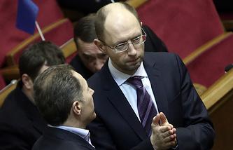 "Лидер фракции ""Батькивщина"" Арсений Яценюк"